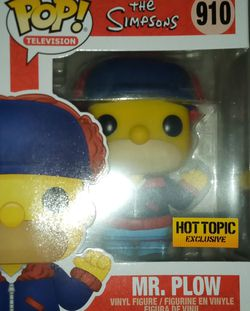 Funko Pop The Simpsons Mr.Plow for Sale in Emerald Hills,  CA