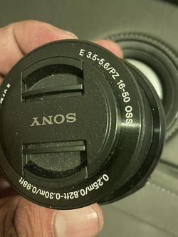 Sony E Mount Lens 16-50mm for Sale in Houston,  TX