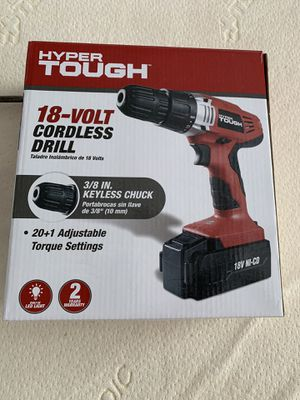 18-volt Cordless Drill in the box Dill, Battery and Battery Charger for Sale in Orlando, FL