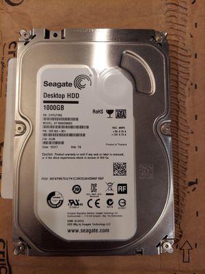 Seagate 1TB Desktop HDD Sata 6Gb/s 64 MB Cache 7200 RPM for Sale in Chino Hills, CA