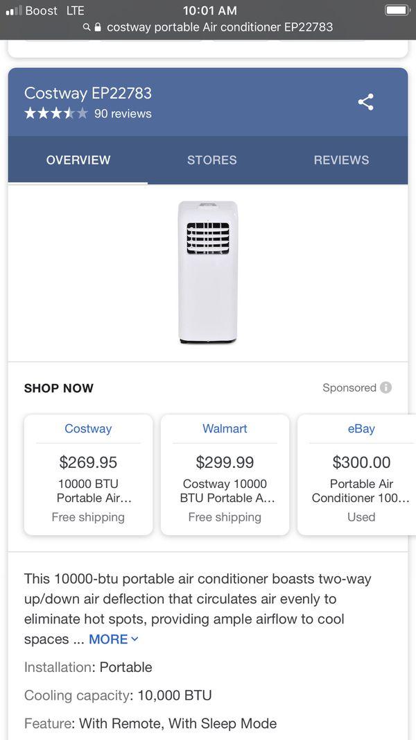 Cost way portable Air conditioner EP22783
