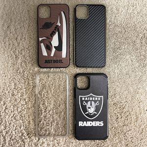 Bundle Of 4 iPhone 11 Pro Max Cases! Perfect Condition! Pick Up In Elk Grove for Sale in Elk Grove, CA