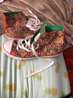 Converse Christmas shoes for Sale in Nuevo, CA