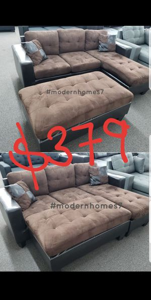 super comfortable sectional sleeper sofa convertible sleeper couch for Sale in Fontana, CA