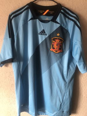 Adidas Spain soccer jersey for Sale in San Diego, CA