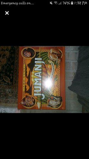 Jumanji board game for Sale in Evansville, IN