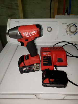 NEW Milwaukee m18 impact with batteries and charger for Sale in Jefferson, LA