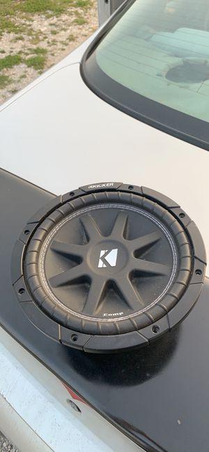 10 inch Kicker Comp for Sale in Manito, IL