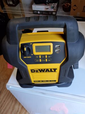 Dewalt jump starter for Sale in Tyler, TX