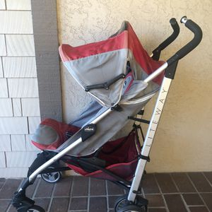 Chicco Liteway Stroller, Red for Sale in Redwood City, CA