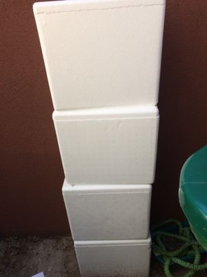 Styrofoam coolers for Sale in Beaverton, OR