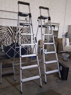 Ladders $50 each sale today only 😎 2759 Irving Blvd Dallas 75207😎 for Sale in Dallas, TX