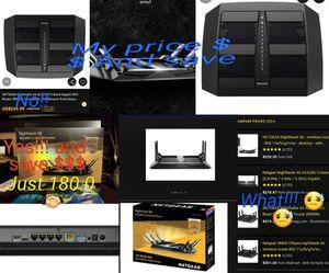 Nighthawk X6. AC3200 Wifi router for Sale in Corpus Christi, TX