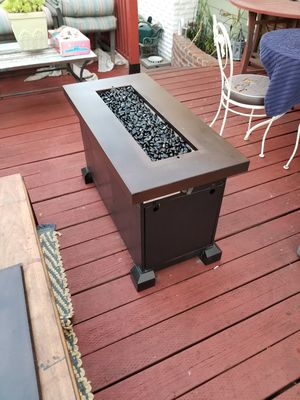 Fire table by camp chef, monteray model. for Sale in Long Beach, CA