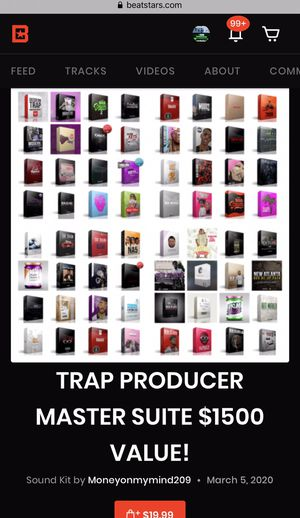 Trap Producer Master Suite Drum Kit $19.99 for Sale in Sacramento, CA