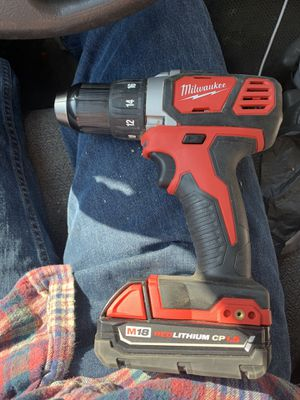 Milwaukee 18v drill for Sale in Bakersfield, CA