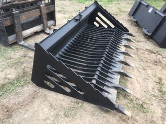 "Skid Steer 72"" Rock Bucket for Sale in Fort Worth,  TX"