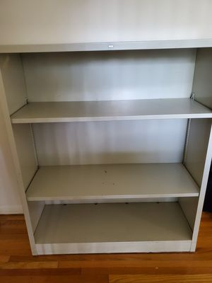 HON metal cabinet with 2 shelfs for Sale in New Brunswick, NJ