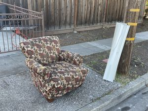 Free chair. You pick up. for Sale in Hayward, CA
