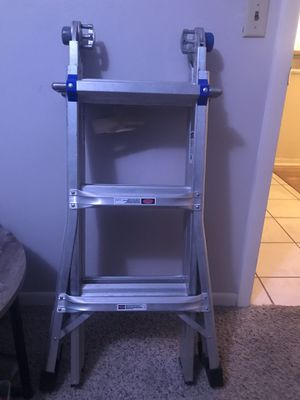 WERNER MT-13 300-POUND DUTY RATING TELESCOPING MULTI-LADDER, 13-FOOTp for Sale in Largo, FL