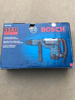 Bosch 13.5 Amp 1-3/4 in. Corded Variable Speed SDS-Max Concrete Rotary Hammer Drill for Sale in Lemont, IL