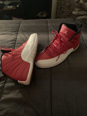Jordan 12s Red/White Sz 13 for Sale in Houston, TX