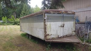 Enclosed trailer. Low profile for Sale in Federal Way, WA