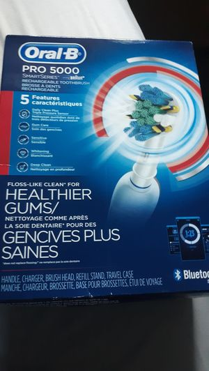 Oral B Pro 5000 Rechargeable Toothbrush for Sale in Leesburg, VA