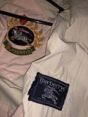 Burberry's vintage windbreaker spring jacket for Sale in Fresno, CA