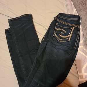 Silver jeans for Sale in East Gull Lake, MN