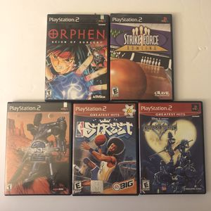 PlayStation 2 Game Bundle - includes kingdom hearts for Sale in Roswell, GA