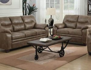 Microfiber sofa and loveseat for Sale in San Leandro, CA