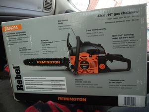 Remmington chainsaw brand new in the box for Sale in Midvale, UT