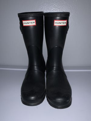 Black Hunter Boots Size 8 Women for Sale in Tustin, CA