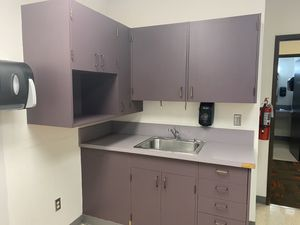 Purple Kitchen Cabinets, Drawers, and Sink for Sale in Gig Harbor, WA