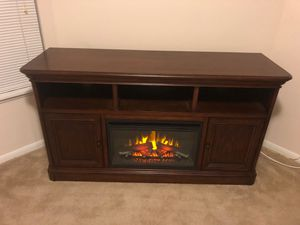 Entertainment heater fire place for Sale in Benbrook, TX