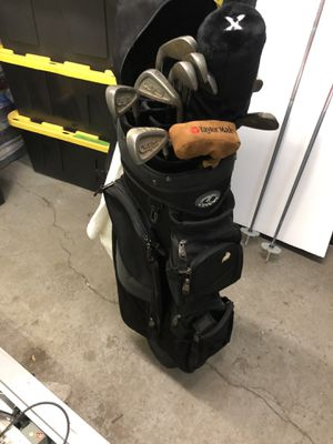 Golf clubs and travel bag for Sale in Pittsburgh, PA