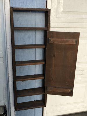 Vintage Wooden Spice Cabinet for Sale in Fresno, CA