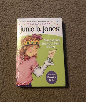 Brand new junie b jones book collection books 5-8 for Sale in Tulare, CA
