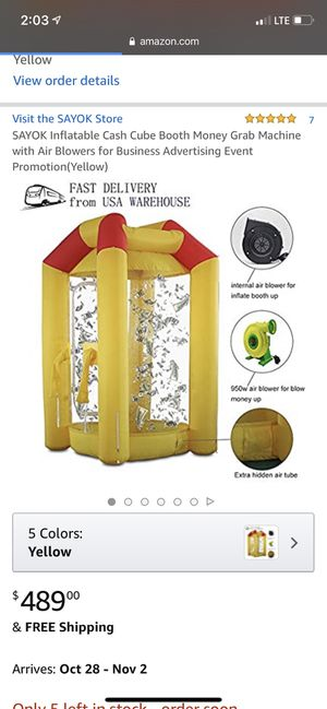 Cash Machine Bounce House for Sale in West Hempstead, NY