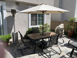 Six (6) Piece Patio Dining Set for Sale in San Diego, CA