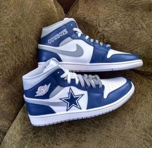 "Custom Jordan 1 ""Cowboys"" for Sale in Orlando, FL"