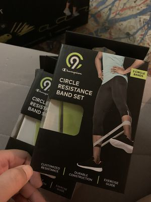 Circle Resistance Band Set for Sale in Boston, MA