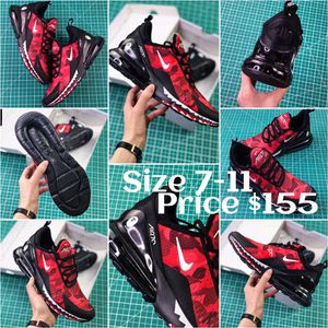 Men's Nike Air 270 bape red for Sale in Las Vegas, NV