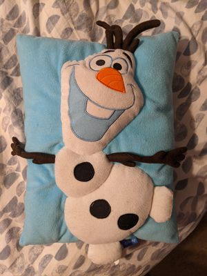 Olaf pillow for Sale in San Diego, CA