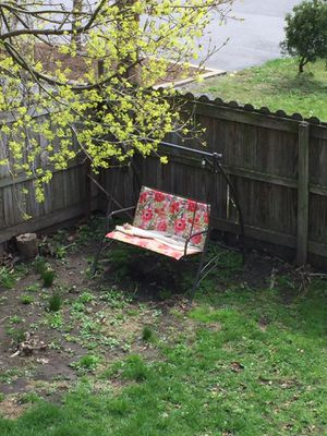 Outdoor patio/deck swing. Comes with top. for Sale in Williamsport, PA