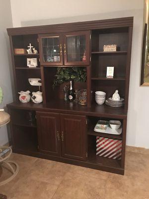 Wall unit/desk for Sale in San Antonio, TX