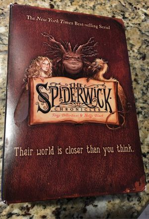 The Spiderwick Chronicles book set . See pictures. Asking $3 for Sale in Litchfield Park, AZ