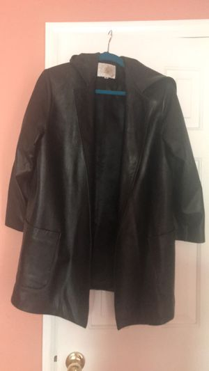 Leather coat jacket for Sale in Las Vegas, NV