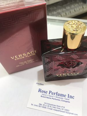 Versace Eros FLAME Fragrance by Versace Versace 100ml 3.4oz for Sale in The Bronx, NY
